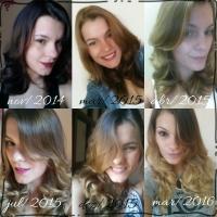 Cuidando dos cabelos em casa: 1 ano de muitas transformações